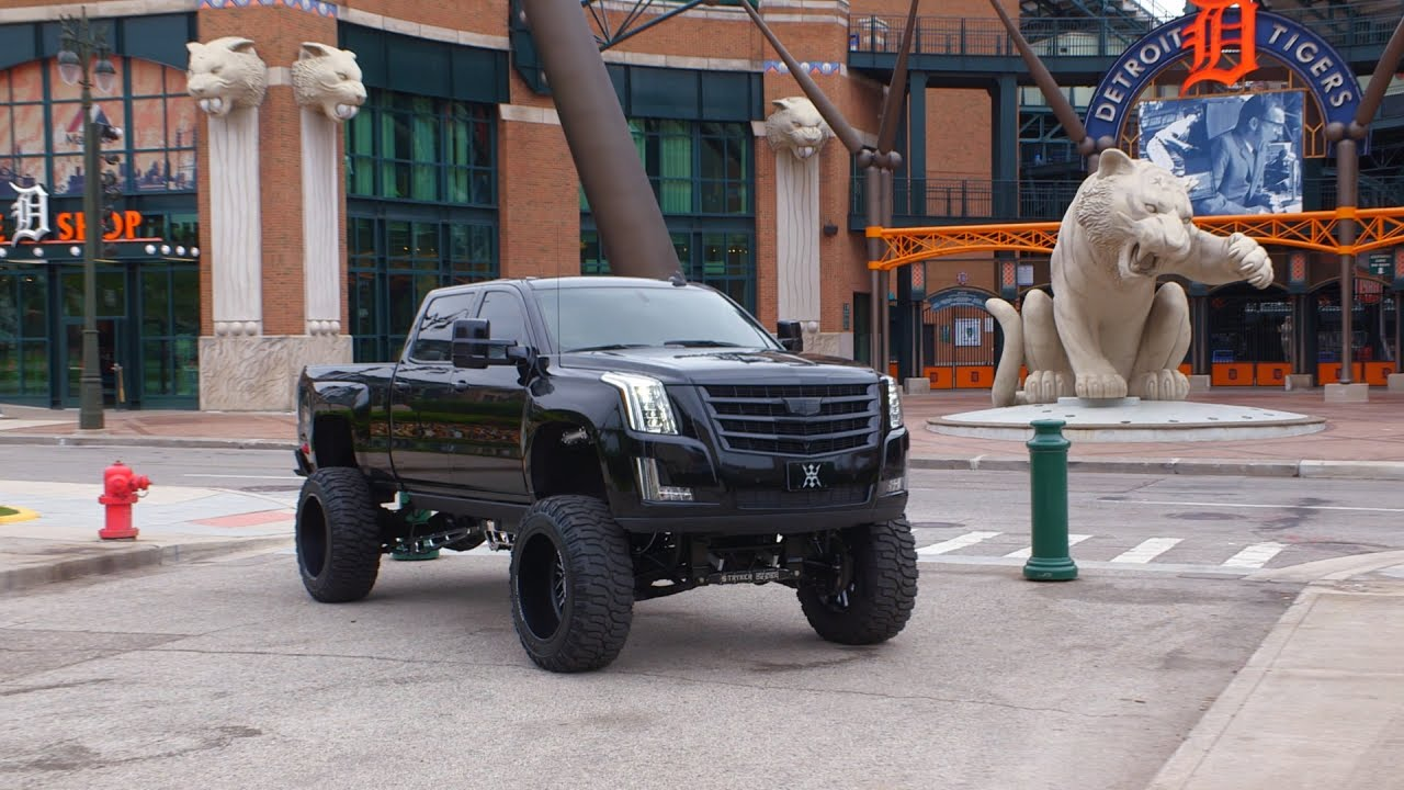 Check Out Miguel Cabrera S Custom Cadimax Truck Diesel