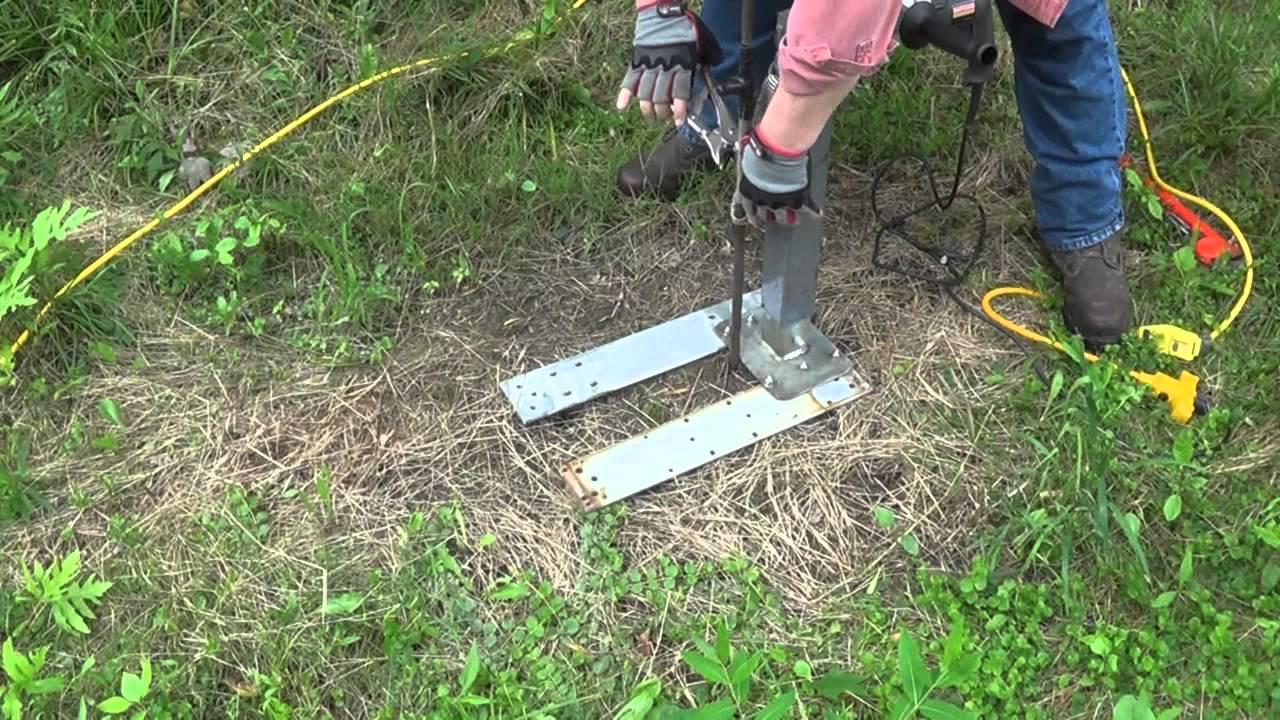 K8az Ground Rod Puller Youtube