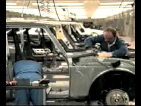 Saab 900 classic production plant in Malmoe 1989.mp4
