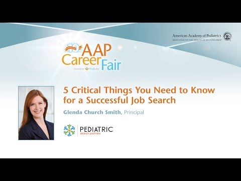 5 Critical Things You Need to Know for a Successful Job Search