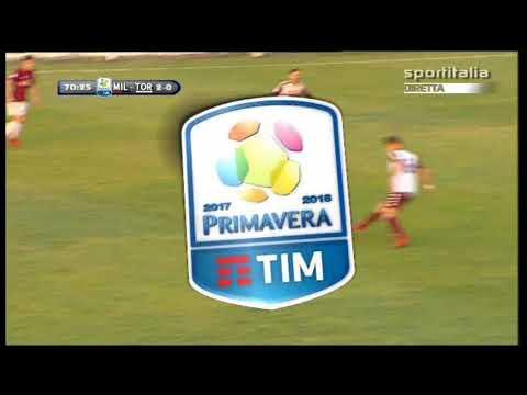 Campionato PRIMAVERA 1: Milan - Torino 2-1