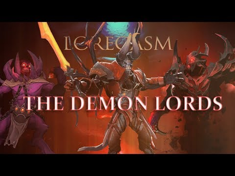 Dota 2 Loregasm: The Demon Lords