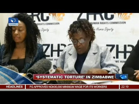 Security Forces Accused Of 'Systematic Torture' In Zimbabwe 22/01/19 Pt.4 |News@10|