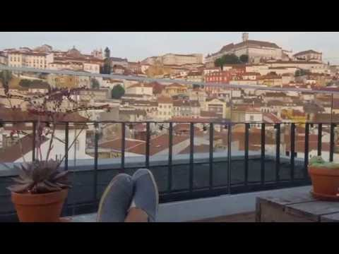 Hotel Oslo Rooftop Bar in Coimbra - Portugal September 2016