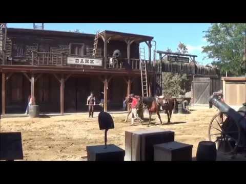 Bang Bang West - Wild West Stunt Show - Port Aventura