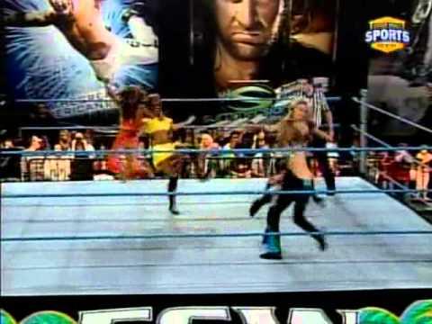 Rosa Mendes vs. Taryn Terrell vs. Courtney Taylor vs. Alicia Fox - FCW TV 11/15/2008