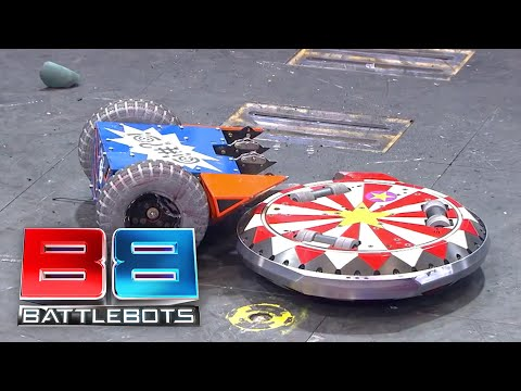 BattleBots Season 2 Exhibition Rumble - The Daughters Rumble: Bad Kitty v OverDrive v The Ringmaster