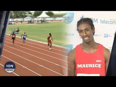 [JIOI 2019] Handisport : Eddy Capdor décroche l'or au 100 m sport adapté hommes