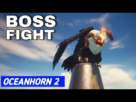 Oceanhorn 2 How To Beat CHORA TUYK FIREBIRD (BOSS FIGHT)