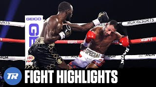 Terence Crawford Highlight Reel Knockout of Kell Brook, Pacquiao Next | FULL FIGHT HIGHLIGHTS