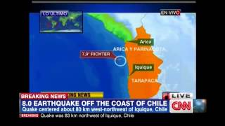 Chile Earthquake 2014 - 8 2 Magnitude Earthquake Strikes Chile (Tsunami Warning)