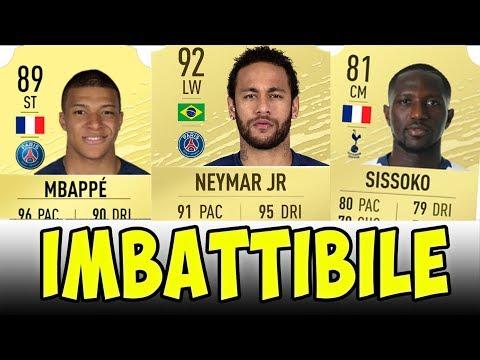 FIFA 20: LA MIA SQUADRA BUGGATA E IMBATTIBILE! (Squad Builder)