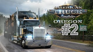 American Truck Simulator 33 Oregon DLC - Buying Our First Trailer & Making Some Money