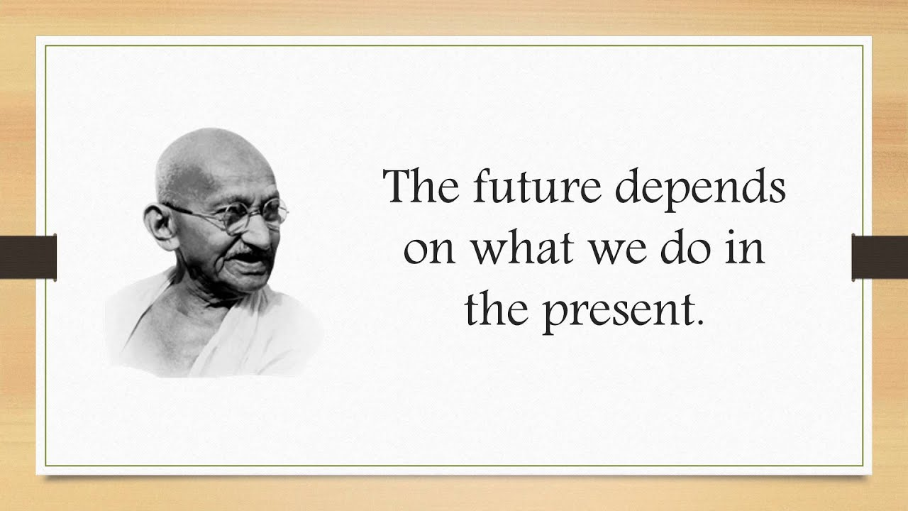 Mahatma Gandhi Quotes Mahatma Gandhi Thoughts Best Quotes Youtube
