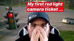 My First Red Light Camera Ticket ...