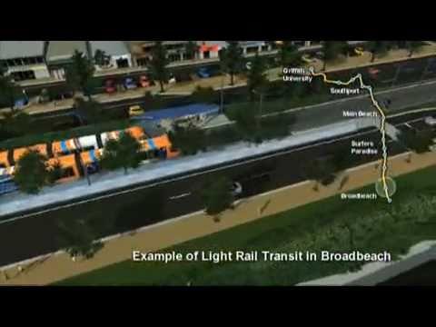 Gold Coast Light Rail - Gold Coast Australia