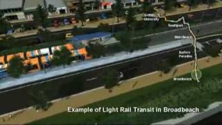 Gold Coast Light Rail - Gold Coast Australia