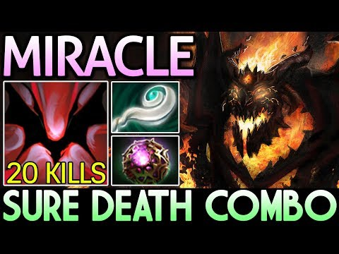 Miracle- [Shadow Fiend] Easy 20 Kills with Sure Death Combo Dota 2