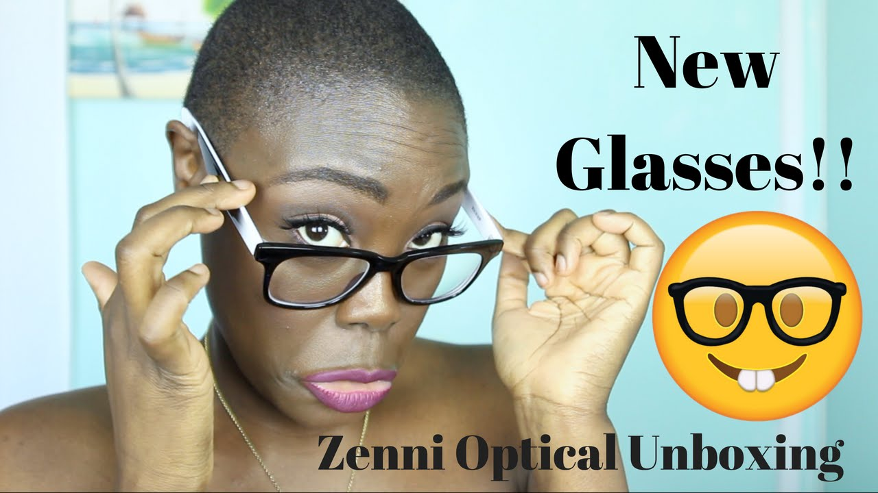 32e5f9db69 NEW Glasses  Zenni Optical Unboxing  zennioptical - YouTube