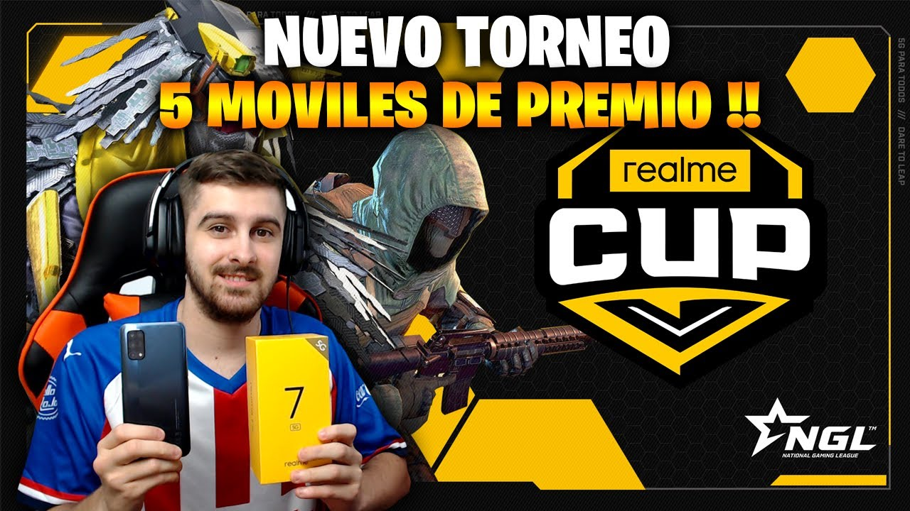 NUEVO TORNEO CON 5 MOBILES DE PREMIO - REALME CUP COD MOBILE