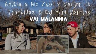 Baixar Anitta, Mc Zaac, Maejor ft. Tropkillaz & DJ Yuri Martins | Vai Malandra (Reaction) | TMC