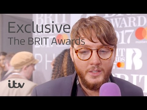 The BRIT Awards 2017 | James Arthur Interview | ITV
