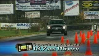 Cadillac CTS-V (2009) Videos