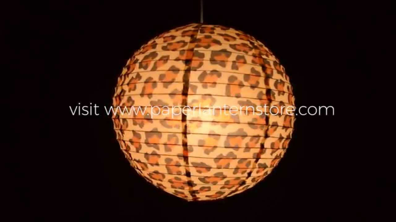 How to hang paper lanterns using a single light cord youtube arubaitofo Choice Image