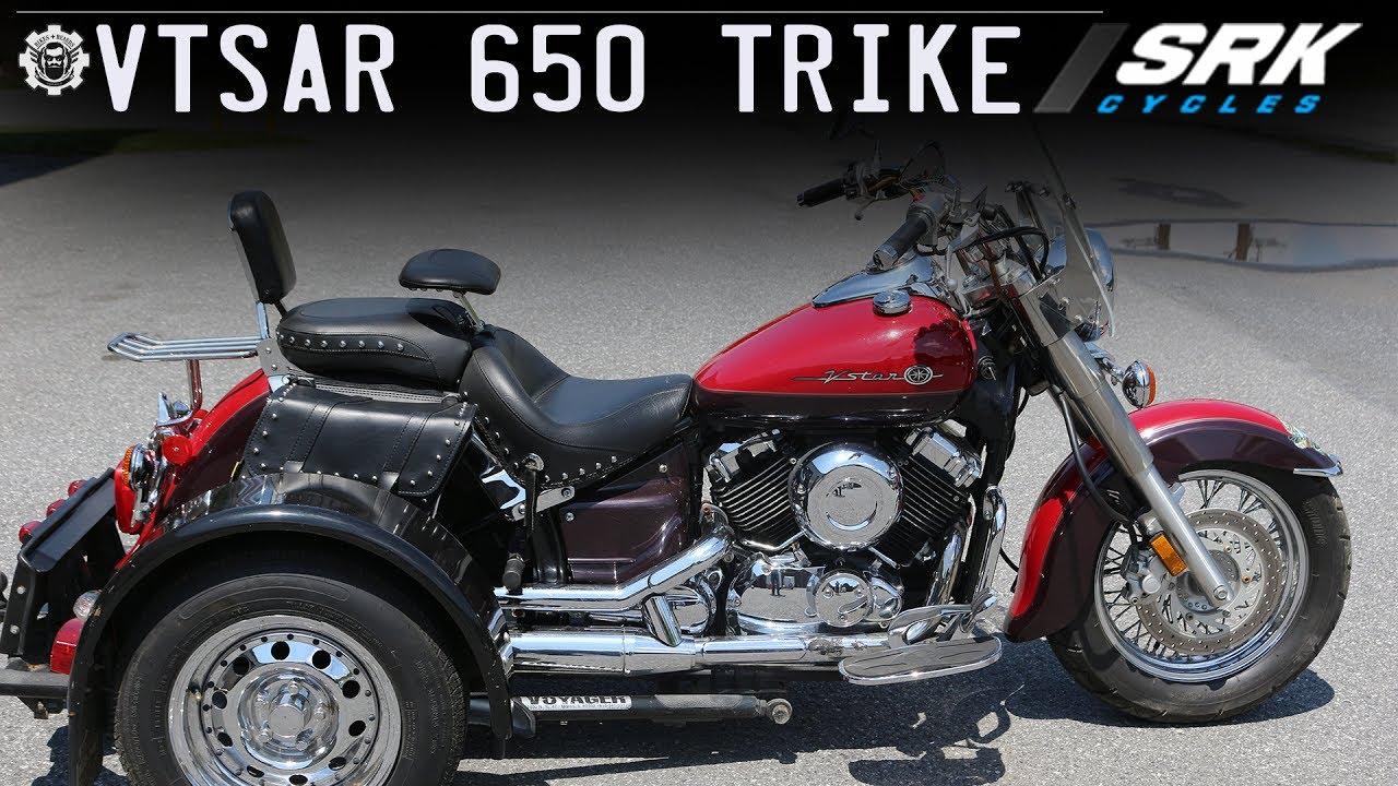 Yamaha vstar 650 trike youtube yamaha vstar 650 trike solutioingenieria Choice Image