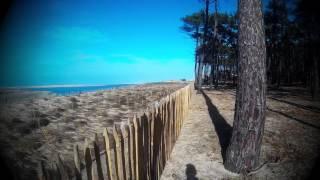 Plage du Petit Nice, dune du Pyla et vue sur le banc d'Arguin...