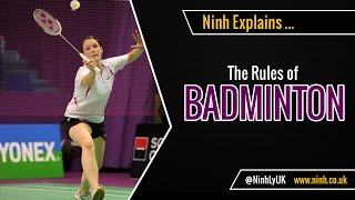 The Rules of Badmİnton - EXPLAINED!