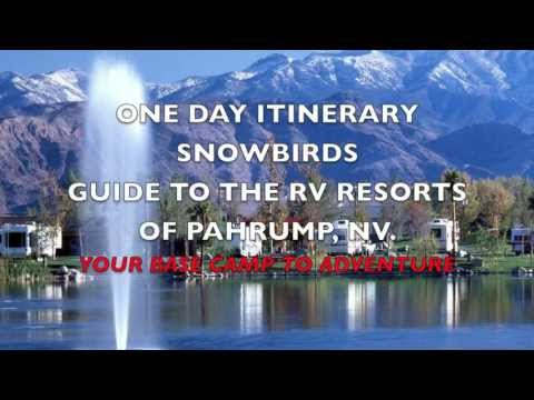 "Pahrump , NV. ""A Snowbirds Guide to the RV Resorts of Pahrump, NV. Nevada Campground"
