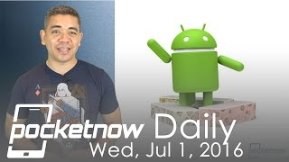 Galaxy Note 7 front panel leaks, Android 7.0 Nougat & more - Pocketnow Daily