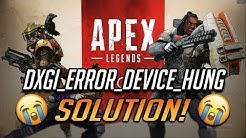 How to fix Apex legends 0x887A0006-DXGI-ERROR-Device-Hung [EN/TR]