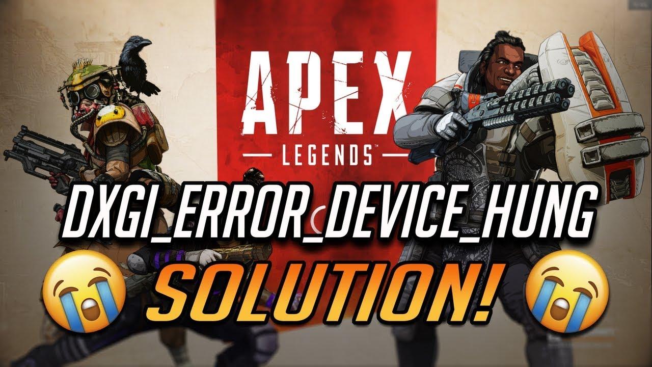 Fix Apex Legends Engine Error - 0x887A0006 -
