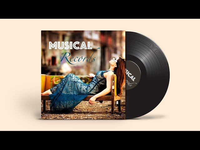 Cover & Template Design | Adobe Illustrator/Photoshop | Musical Records ( Part 1 )