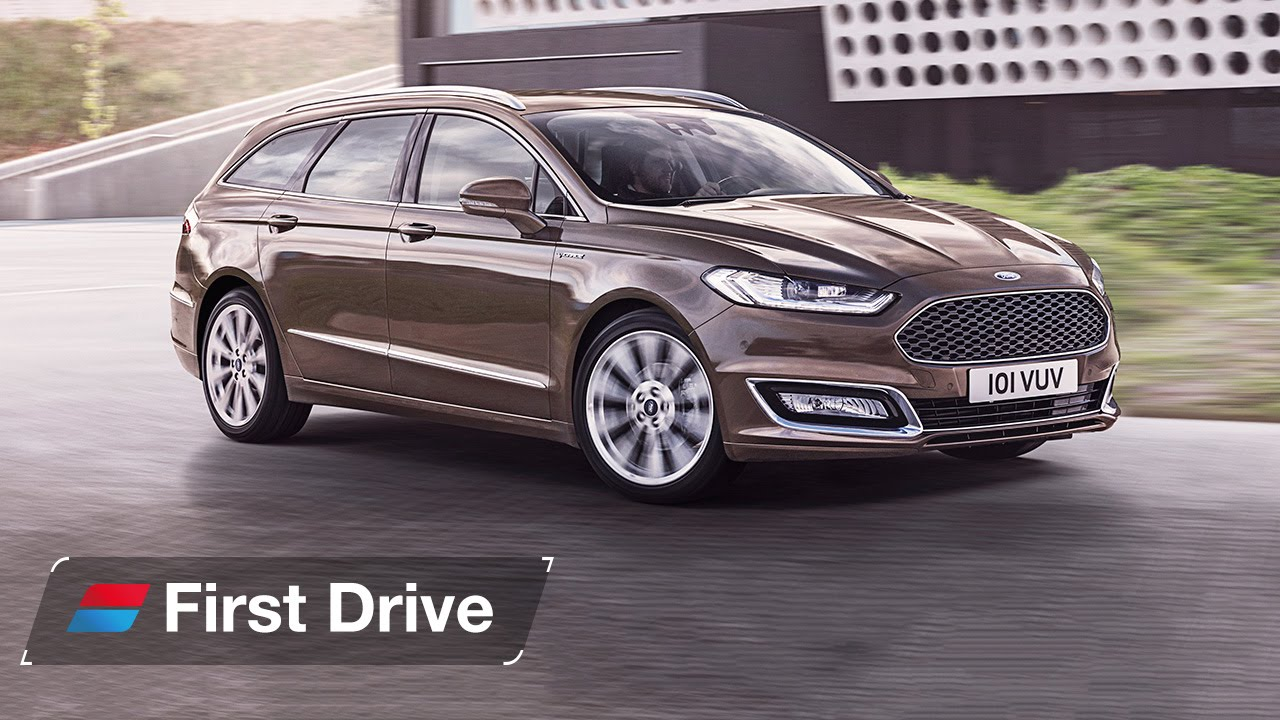 Ford Vignale Estate Mondeo First Drive Review Youtube