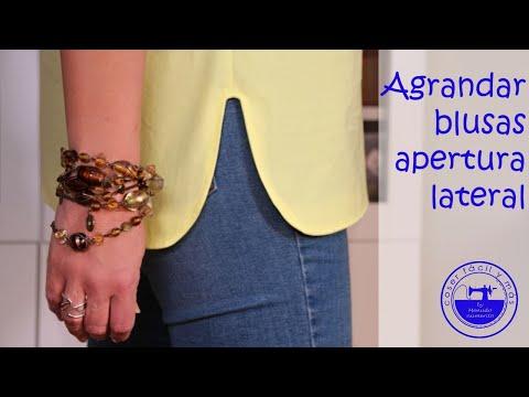 Agrandar una blusa con aperturas from YouTube · Duration:  12 minutes 3 seconds