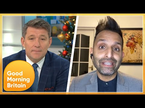 Dr Amir Is Disappointed In The Lack Of COVID-19 Vaccine That's Been Shipped | Good Morning Britain