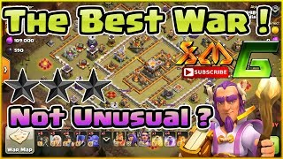 Clash of Clans⭐Wow ! The Best War Attack 3-Star TH11⭐ Not Unusual Attacking Ring Base Max TH11⭐