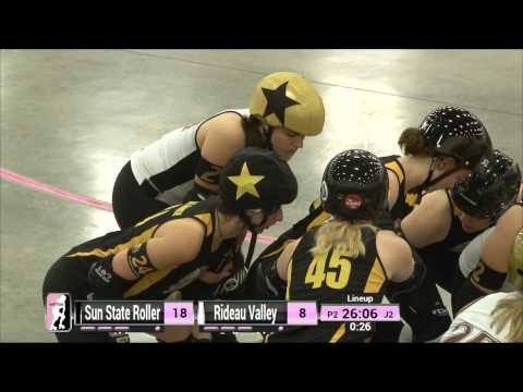 Dallas Game 2: Sun State Roller Girls v Rideau Valley Roller Girls