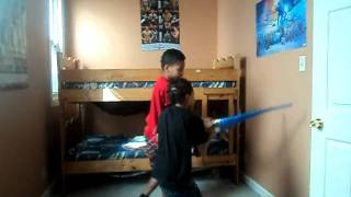 light saber fail