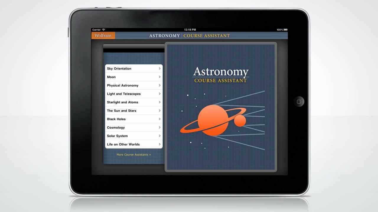 a quick tour of the wolfram astronomy course assistant