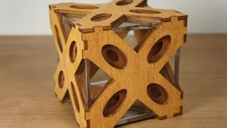 The Answer puzzle box with 42 steps