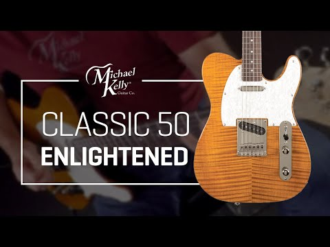Ultralight Guitar - Michael Kelly Enlightened Classic 50 - Sound Demo