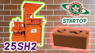 Startop Interlocking Brick Co.,Ltd / ST-H203-HV Hydraulic press machine (Semi-auto) - Heavy