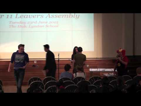 Year 11 Leavers Assembly - Lyndon School June 2015 - Part 1