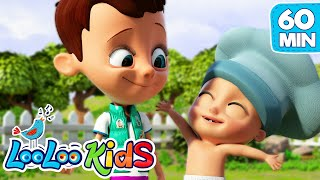 👶🏻Johny and The Muffin Man👨🏻‍🍳🧁- LooLoo Kids Best EDUCATIONAL KIDS SONGS