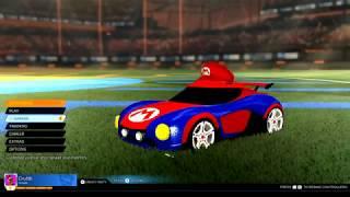 Rocket League Nintendo Switch Gameplay
