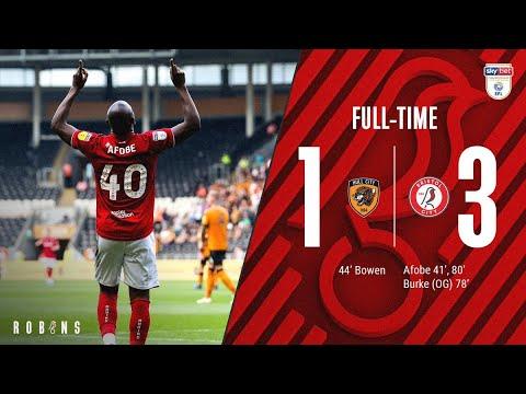 Highlights: Hull City 1-3 Bristol City